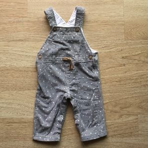 Cotton Patterned Overalls